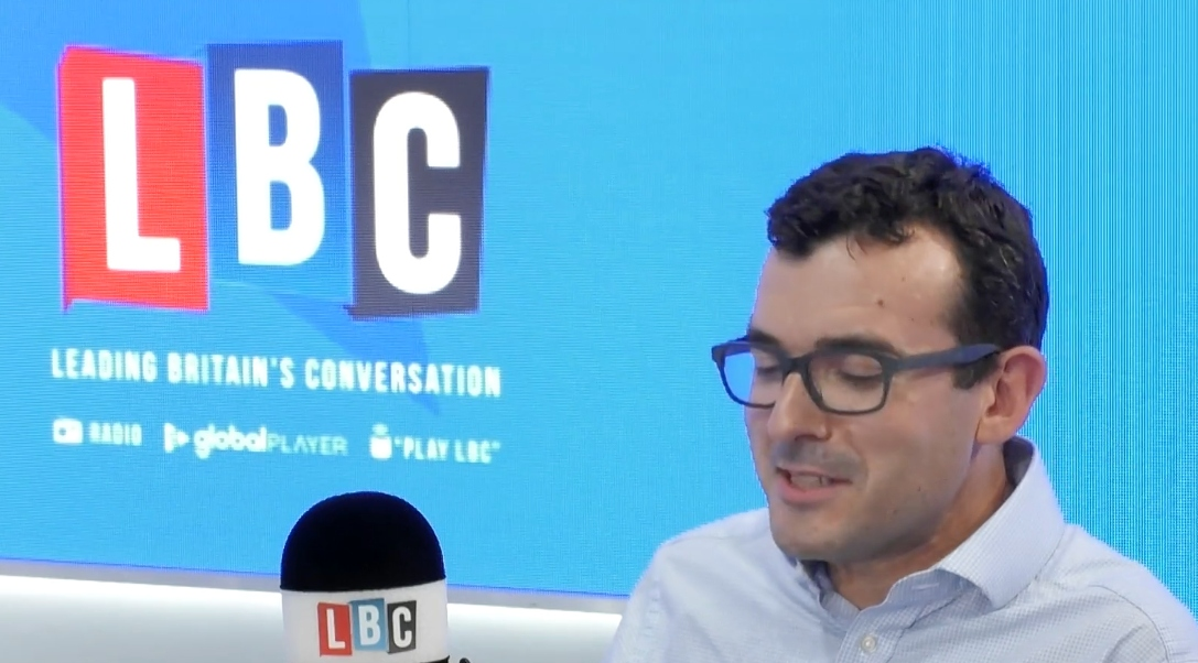 London's Walking and Cycling Commissioner, Dr Will Norman, speaks to LBC's Shelagh Fogarty about the air pollution problem and the initiatives in place to try and help improve it.