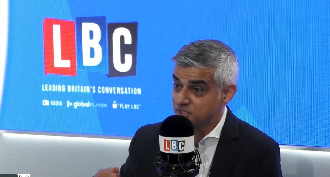 "Mayor Sadiq Khan tells LBC what he's doing to address this ""invisible killer"" in the video above with Shelagh Fogarty."